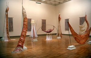 Installation view, Endgame: A Simple Matter of Balance , Qld Art Gallery